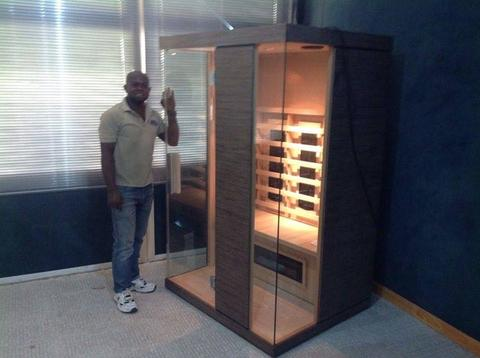 infra red sauna for 2 persons executive delivery in lagos