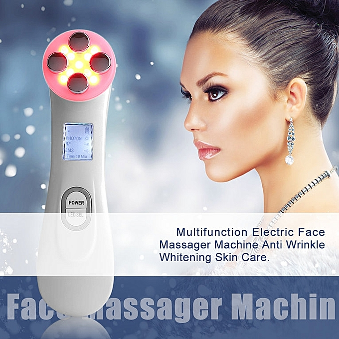 Electric Face Massager Machine Anti Wrinkle Whitening Skin Care