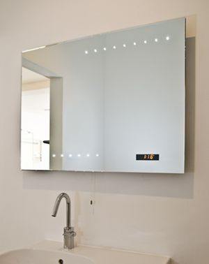 Digital large wall mirror