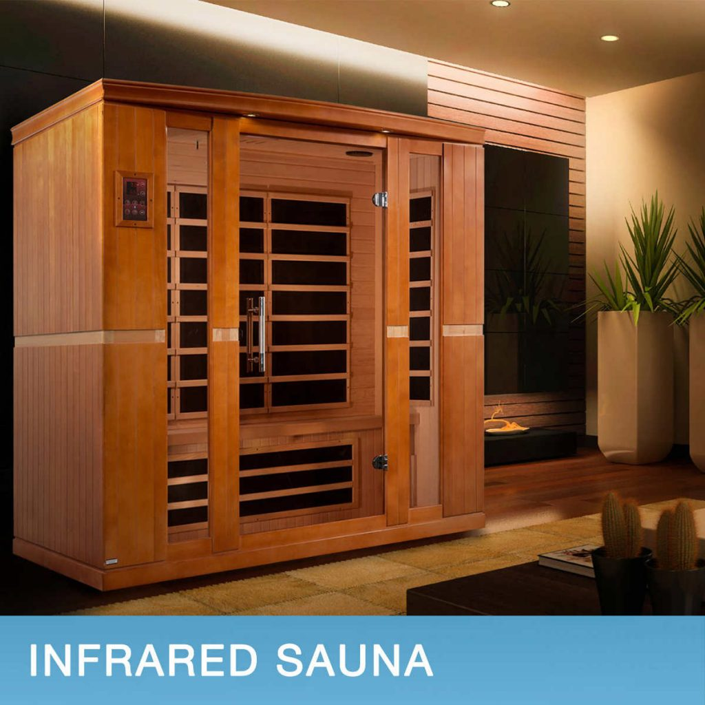 """Buy the Two-person Infra Red Sauna with 4 Infra Red Heating elements. Enjoy the bright color lighting system as well as play your favorite music through the MP3 auxiliary connection. In addition, enjoy amazing health benefits which include: detoxification of your skin, improved circulation, stronger immune system, weight loss, stress relief, pain relief, and feeling revitalized This is an awesome deal. It is easy to assemble! Starts heating up in less than 1 minute. The infra red sauna is super cool for two reasons: First, it is not as dangerous as traditional saunas; Second, it causes the body to heat up more quickly. The Infra red Sauna operates quite well. It heats very quickly, going from 66 degrees F to 136 degrees F in approximately 25 minutes with the temperature set to 140 deg F. Once it reaches 140F (only a couple of more minutes), the controller cycles between 140F and 136F, swinging through this range every few minutes.. This is perfectly adequate to get you into a good sweat for the recommended 30 minute period. The control panel is really convenient and intuitive to use. When the timer counts down to 1 minute, the alarm starts beeping. It's easy to stop the alarm by adding more time to the timer or simply pushing the Power Off button if you are done. The lights are LED and plenty bright enough for reading in the sauna. More Specification for Infra Red Sauna Interior Red Control Panels Dimensions: The sauna measures 47.25""""W x 39.25""""D x 75""""H Thickness of sidewall panel wood is about 10 mm 0.6 inches (It is a double walled Sauna) Power Usage is 220 Volts while the power is 1,680 Watts Circuit Breaker Needed is 15 Amps Glass Door: 22"""" X 61"""", 1/4"""" tempered glass, 6.4mm thick Capacity: 2 Person Sauna Weight Hemlock Wood: 176 Kg (388 lb) Seating Type: Bench Adjustable Temperature: 15-65°C (60-150°F) Timer Setting: 0 to 60 minutes Wood Material: Hemlock with buckle assembly for quick and easy setup Construction: EZ Lock System, Non-toxic glues on inside, Non-to"""