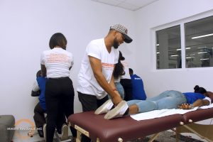 MMHS Massage Me Training School Spa Parlour Lekki Lagos