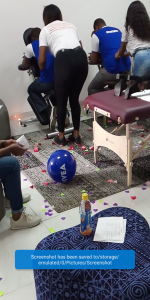 About Our cooperate massage event with Nivea in Lagos