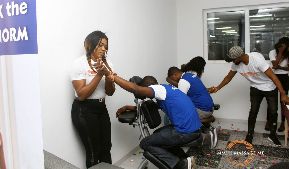 cooperate massage event in Lagos