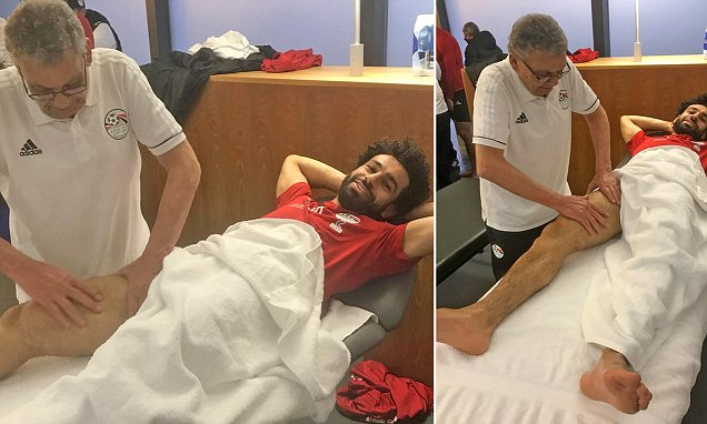 Barcelona vs Liverpool at the Semi final of UEFA Championship 1st may, but is massage included into their routine as professional football players?