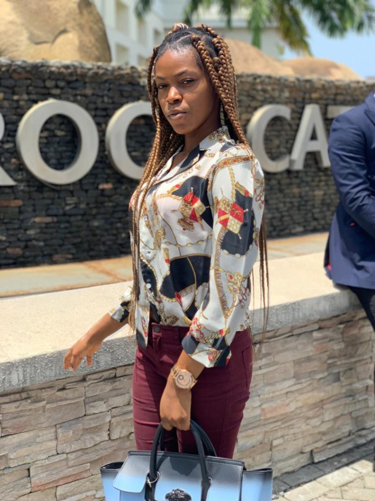 currently training in our Massage school a promising female therapist in Lekki Lagos Island (she is available for massage in ikoyi, Vi and, Eti osa local government axis Lagos